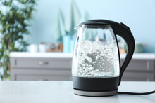 Transparent Electric Kettle Wi...