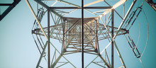 Close Up Of Electrical Tower A...