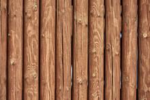 Texture Of Logs, Masonry Coupl...