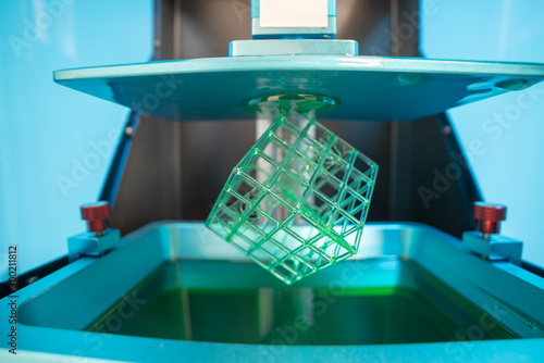 Fotografia  Stereolithography photopolymer  DPL 3d printer