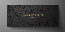 Luxurious VIP Invitation Templ...