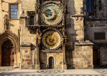 Prague Astronomical Clock In Czech Republic