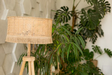 Lamp Shade Wicker. The Interio...