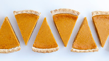 Fresh Homemade Pumpkin Pie Sli...