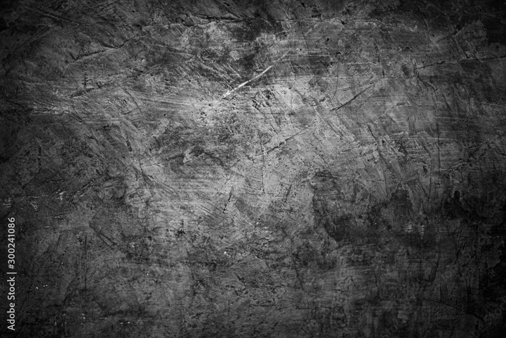 Fototapety, obrazy: abstract textures gray cement concrete background , wallpaper