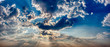 canvas print picture - Cloudy sky