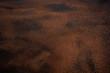 macro background of rusty red orange black