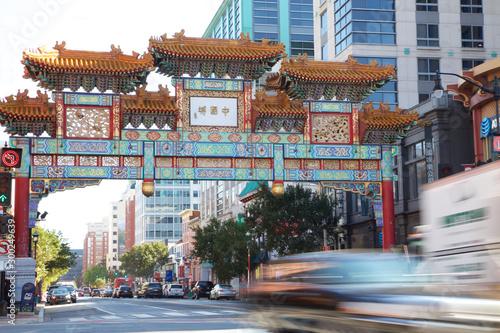 Wejście do Chinatown w Waszyngtonie