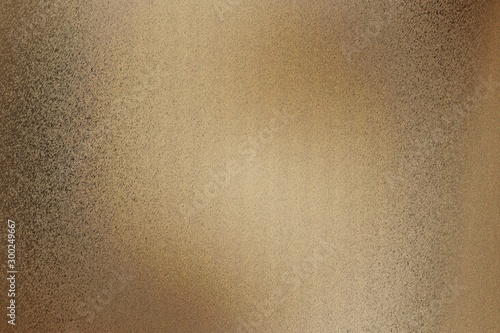 Photo Dirty dark brown metallic wall with scratched surface, abstract texture backgrou