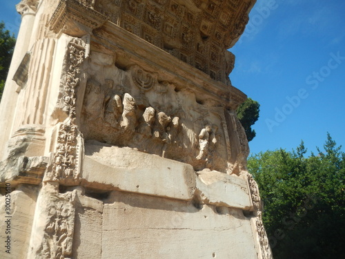 Canvas Print Arch of Titus