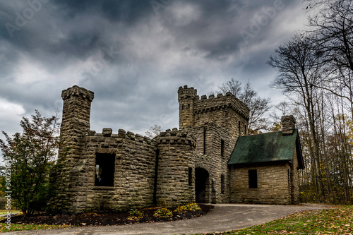 Squires castle North Chagrin reserve Ohio