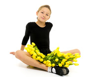 Beautiful Little Girl Gymnast ...