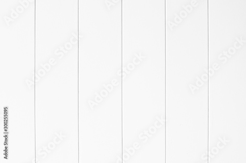 Fotomural White Wood plank background natural wood grain pattern texture