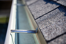 View Inside Roof Gutter With C...
