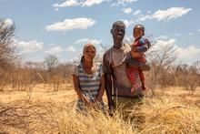 African Family With Child