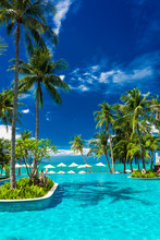Large Infinity Swimming Pool O...