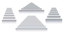 Interior White Stairs
