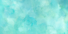 Green Blue Watercolor Backgrou...