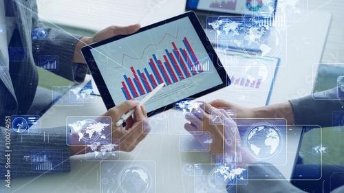 Vászonkép  データ分析