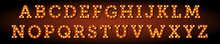 Broadway Style Orange Light Bu...