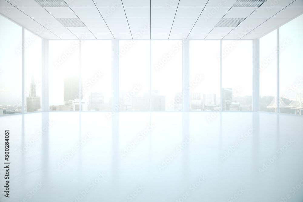 Fototapety, obrazy: Interior with columns