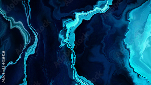 Fototapety, obrazy: Abstract marble, Watercolour liquid fluid texture, Marbling background design for banner and digital painting wallpaper