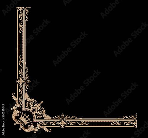 Fotografie, Obraz  Decorative elegant luxury design