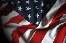 Flag USA As A Patriotic Backgr...