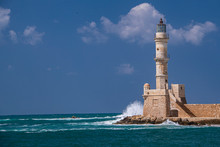 LIghthouse Chania Crete