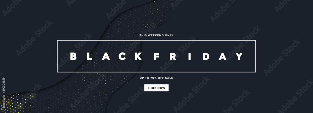 Fototapeta Black Friday Sale Banner 6