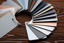 Samples Of Metal Laminate Laid...