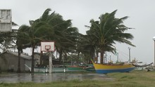 Strong Winds Hit Coastal Area ...