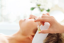 Care Treatment In A Beauty Sal...