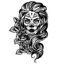Vector Hand Drawn Tattoo Illus...