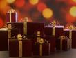 Luxury christmas present boxes