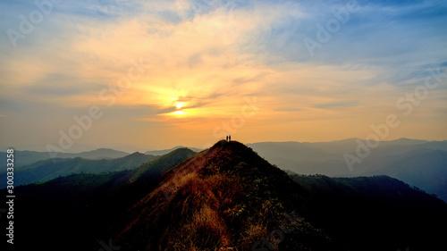 Foto auf Gartenposter Beige Khao Chang Phuak Mountain - Kanchanaburi