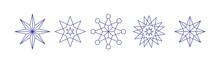 Weihnachtliche Sterne Linear G...