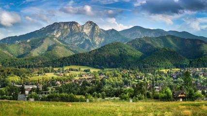 Zakopane and Tatra Mountains - summit of Giewont