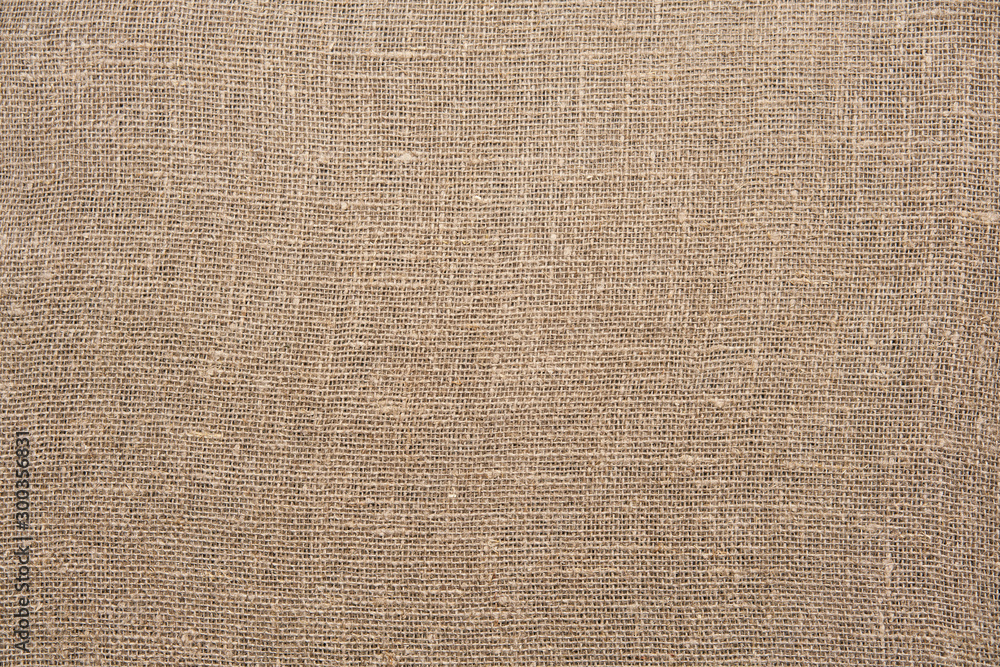 Fototapety, obrazy: Brown canvas texture or background and empty space