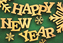 Happy New Year Background.Rust...