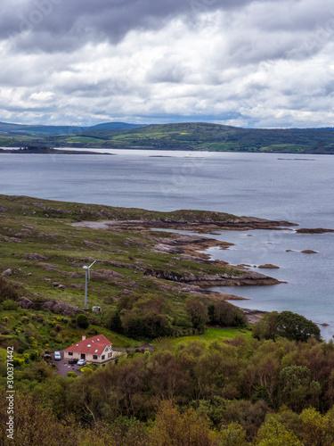 Photo Irish coastline near bantry