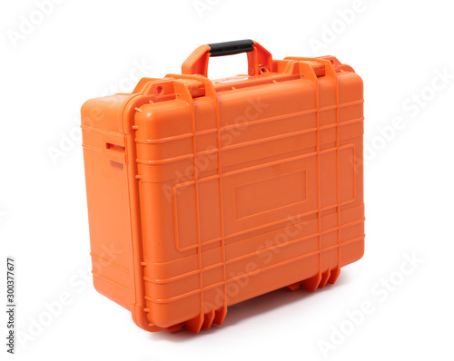 Fényképezés Waterproof Safety Case. Isolated with handmade clipping path.