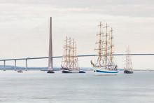 Tall Ships Mir And Kruzenshter...