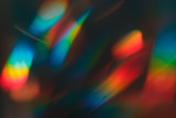 Fototapeta Rainbow - unusual colorful abstract background, digital photo