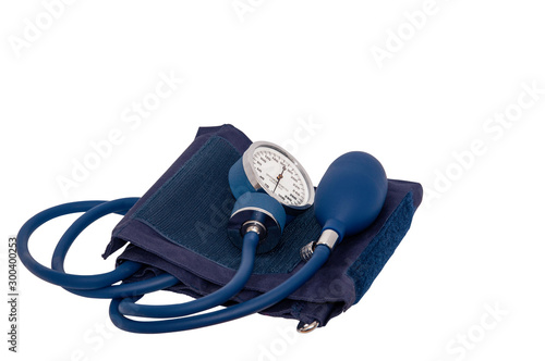 Sphygnomanometer arm cuff for checking blood pressure. Wallpaper Mural