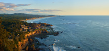 Panoramic View Of The Oregon C...