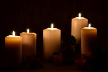Funeral Memorial Background. F...