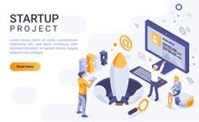 Startup Project Landing Page V...