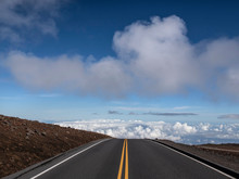 Road At The Summit Of Haleakal...