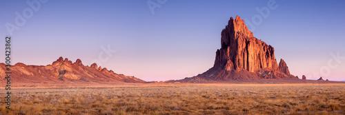 Fotografía Shiprock New Mexico Southwestern Desert Landscape